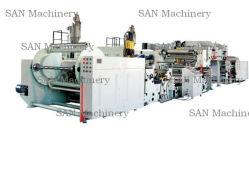 Sec série PE de papier de revêtement et de prix de la machine de contrecollage