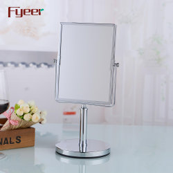 Fyer Rectangle Vanity Mirror 데스크탑 Free Standing Table Mirror