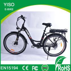 Fábrica de Europa Popular caliente 36V 250W City Bike bicicleta eléctrica China ayuda del pedal Bicicleta eléctrica