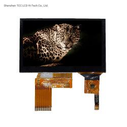 4.3 colore parallelo TFT dell'interfaccia St7282e di pollice 480X272 RGB 24-Bit con lo schermo di tocco capacitivo