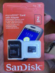 Micro- BR van het Geheugen van de flits Kaart 2g/4G/32g voor Telefoon/Tablet/Camera