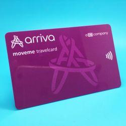 MIFARE programmable Ultralight EV1 Carte de clés de l'hôtel RFID en PVC