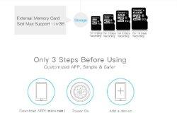 Ultra HD Mini Verre WiFi + APP van de Telefoon Verslag + het Gadget van de Veiligheid van het Huis van de Opname DV direct