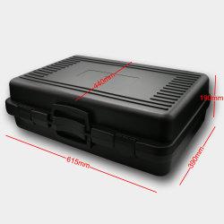 Estojo de plástico de transporte de viagem com pega para laptop