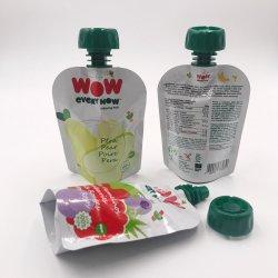 Bolsa da boca de saco de embalagem para alimentos líquidos/Pouch Bolsas da Calha para comida de bebé Embalagem