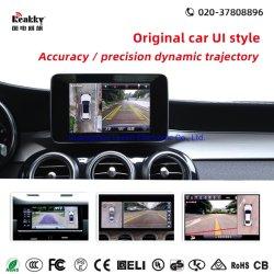 Горячая продажа автомобильный черный ящик для автомобильного движения на 360 градусов камеры системы парковки монитор с высоты птичьего полета камеры и камеры заднего вида навигации GPS видеорегистратор