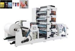 高速紫外線PVC CI 1 2 3 4 6アルミホイルのための8つのカラー紙袋のコップのFlexoの印字機の狭いところ網ファブリックラベルのFlexoの印字機