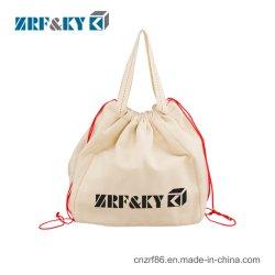 حقيبة درج رخيصة مُعاد تدويرها لحامل Calico Crier Shopping Cotton/Canvas/Velvet/Nylvon/Jute/Organza للحقيبة
