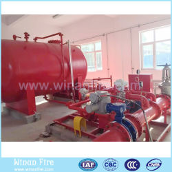 La pompe incendie à moteur diesel pour système d'extinction des incendies de mousse