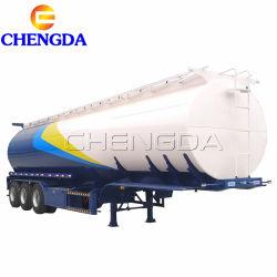 3axle 4 Dieselbrennölaluminiumlegierung-Tanker-LKW-halb Schlussteil-Becken-Schlussteil der Fach-42cbm 50cbm für Verkauf
