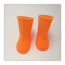 Los colores Candy mascota resistente al agua de lluvia de caucho de silicona al aire libre perro Antiskid zapatos