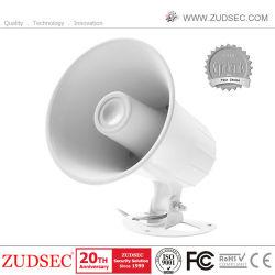 De Elektrische Piezo Sirene met twee tonaliteiten van de Hoorn voor Veiligheidssysteem