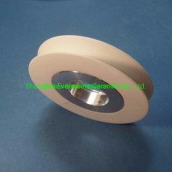 Polea de cerámica de alúmina y aluminio de la unidad y Unidad de cojinete de rodillos