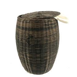 PE van de Verkoop van Renel de Hete Rieten Mand van de Wasserij van de Opslag van de Kleren van de Rotan Plastic