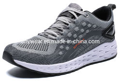Sport superiori di ginnastica di Flyknit di nuovo disegno che eseguono i pattini della scarpa da tennis per gli uomini e le donne (9902)