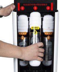 Comptoir de bureau Hot-froid du filtre à eau osmose inverse en 4 étapes, 75purificateur d'eau gpd système RO