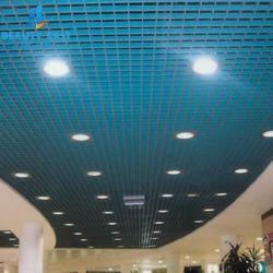 La rejilla de aluminio con suspensión azulejos de techo con todos los accesorios que proporcionan la Guía de instalación