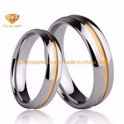 高品質の宝石類のタングステンのリングのチタニウムのリングの方法女性および人指リングTst2835