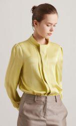 Primavera e autunno pendenti Mulberry Silk temperamento camicia Lady in seta