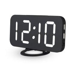 Новые часы с 2 портом зарядки телефона порт беспроводной системы видеонаблюдения скрыть Мини-камеры видеорегистратор DVR наблюдения (WC005BB)