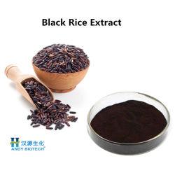 Extrato de arroz preto vermelho púrpura em pó com 25% Antocianinas