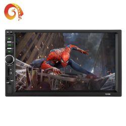 7018 2 DIN 7 дюймовый Автомобильный MP4 Автомобильный MP5 Bluetooth комплекта Громкоговорящей Связи Радиотелефона приоритет заднего вида карты дисплей аудиосистемы автомобиля автомобиль видео плеер