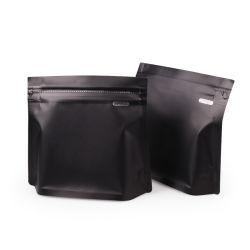 De milieuvriendelijke High-End Kwaliteit Aangepaste Verpakking van de Zak van de Koffie van de Aluminiumfolie van het Af:drukken van het Embleem Plastic met Ritssluiting en Klep