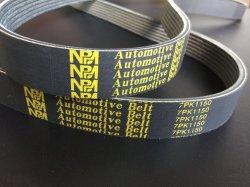 Voiture de conduite en caoutchouc Nbm courroie de transmission la courroie de ventilateur 7PK1140
