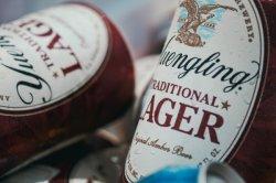 Vorzüglicher heißer stempelnder Bier-Wein-Flaschen-selbstklebender Aufkleber-Kennsatz
