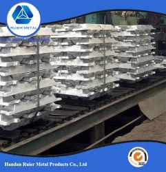 Lingot d'aluminium Al lingot 99,7 % avec le meilleur prix