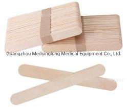 O depressor Tounge de madeira de alta qualidade Mslsp015 com eo esterilizadas