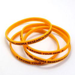 昇進のギフトのための卸し売り安いカスタムシリコーンの方法スポーツのケイ素の輪ゴムの印刷のロゴのリスト・ストラップのブレスレット