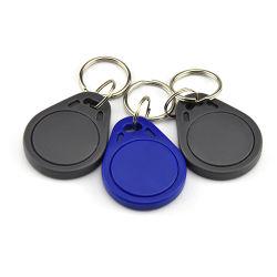 RFID resistente al agua 13.56MHz Llavero etiquetas NFC para Control de acceso