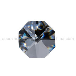 Cristal OEM forma octogonal Decoração Acessórios Lustre