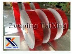 Красная бумага с покрытием из алюминия КАТУШКА / газа для медицинских крышки