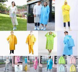 Bunter Regenmantel, Regenkleidung Belüftung-PET Poe-PEVA, Arbeit Rainsuit, preiswerte Regenmäntel, wasserdichtes Rainsuit, Qualitäts-Regenmäntel, preiswerte Regenkleidung, Kind-Regenmäntel, Raincape