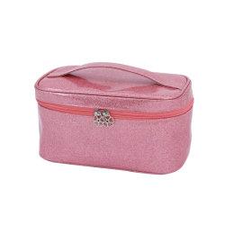 Модный портативный Water-Resistant легкий косметический организатор случае розового цвета подушки безопасности для макияжа