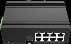 4 порта Gigabit FC промышленного Ethernet Poe