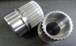 Fabriqué en Chine en alliage aluminium poulie de courroie de l'alésage conique HTD