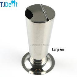 Aço inoxidável dentária Medical Use álcool/Algodão Coloque recipientes de Jar Placa do depósito de ferramentas Pinças Limpar os esterilizadores Pot (TJ-0171)