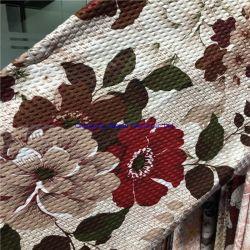 Fabricant de tissus, Bubble tissu gaufré, articles de ménage Bedsheet de gros de produits de qualité est bonne, Textiles en fibres de polyester