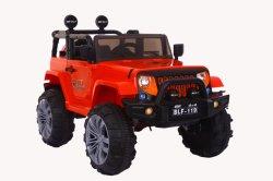 Modelo de jeep Passeio de eléctrico para crianças no carro com RC crianças alimentada por pilha Toy Car 4*4 Super carro roda