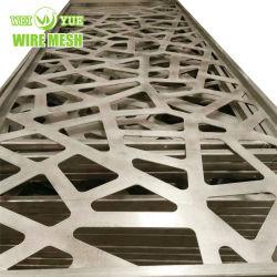 훈장 알루미늄 관통되는 금속 메시 Buildng 물자 또는 천장 널 또는 정면 클래딩 또는 벽 클래딩 또는 방음 또는 벽 클래딩 장