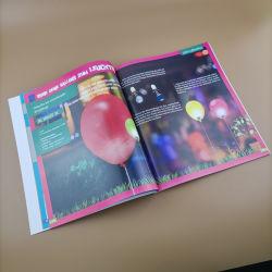 Los niños de la libreta de color completo manual de instrucciones de la libreta de servicio de impresión de libros