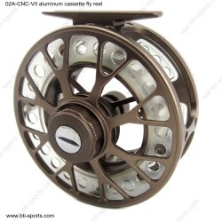 In het groot CNC Machinaal gesneden Spoel 02A-CNC-vii van de Vlieg van de Cassette van het Aluminium Klassieke