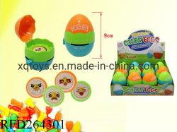 Les oeufs de couleur fantaisie de promotion de l'éjection Candy Toy