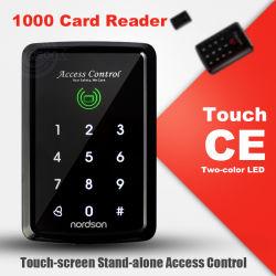125kHz autônomo RFID Teclado Fechar porta aberta com o teclado do ecrã táctil