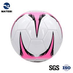 Tipi di misura PU PVC macchina cucito colorato pelle sintetica Addestramento ufficiale del produttore utilizzare palla da calcio in gomma personalizzata