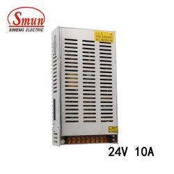 S-250-24 Smun 250W 24В постоянного тока 10 А IP20 AC-DC преобразователь питания