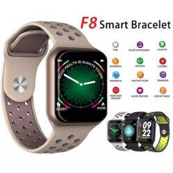 Smart bracelete de vigilância IP67 à prova de monitor de ritmo cardíaco a pressão arterial Rastreador Fitness Mulheres Homens Sport Wearable assistir a F8 PK S226